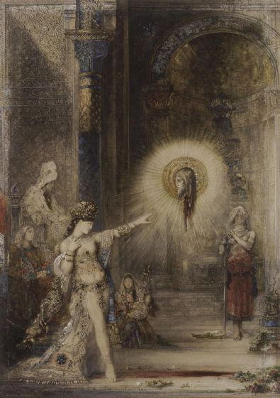 Moreau, Gustave: The Apparition. Fine Art Print/Poster. Sizes: A4/A3/A2/A1 (007)